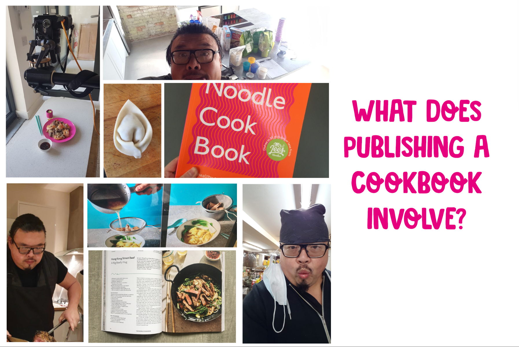 Behind the scenes of publishing a cookbook