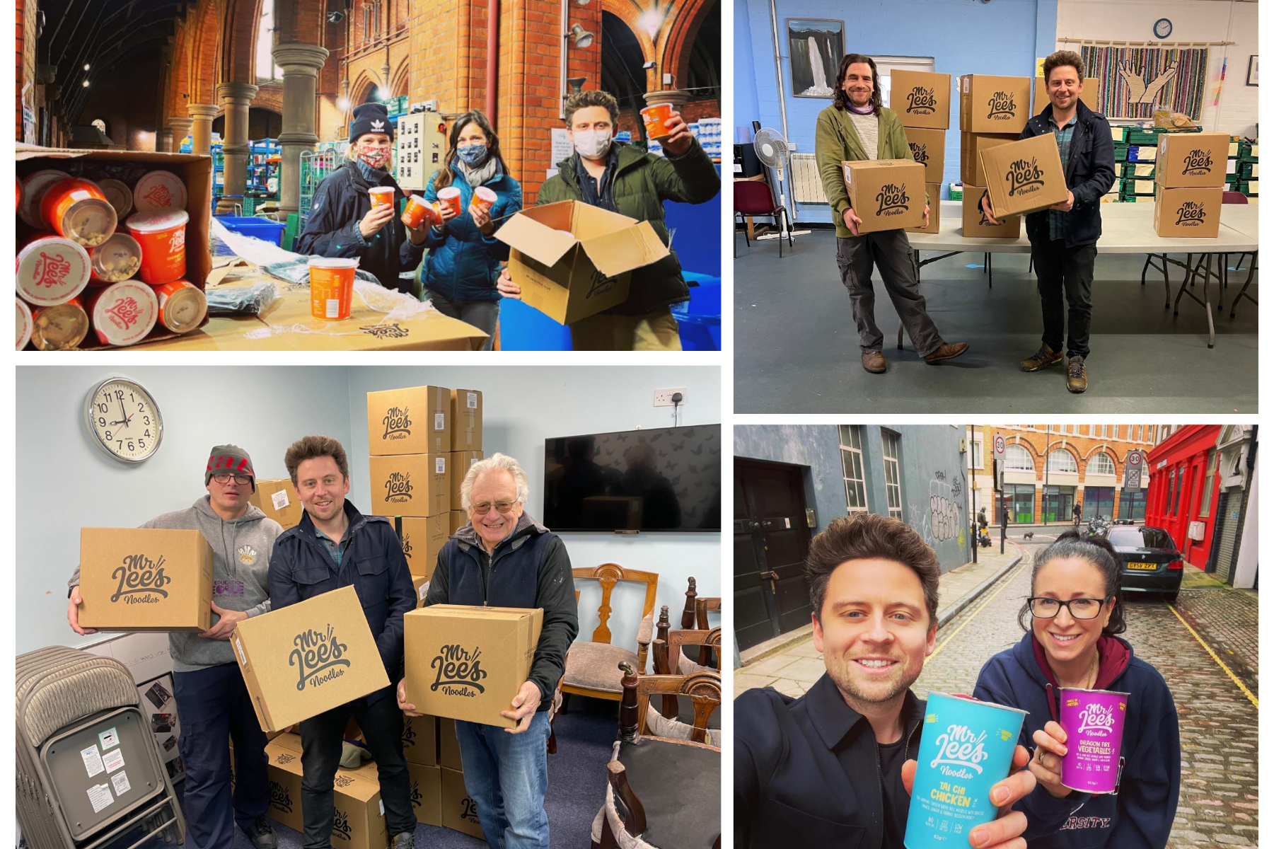 Mr Lee's donates 20,000 meals to UK food banks