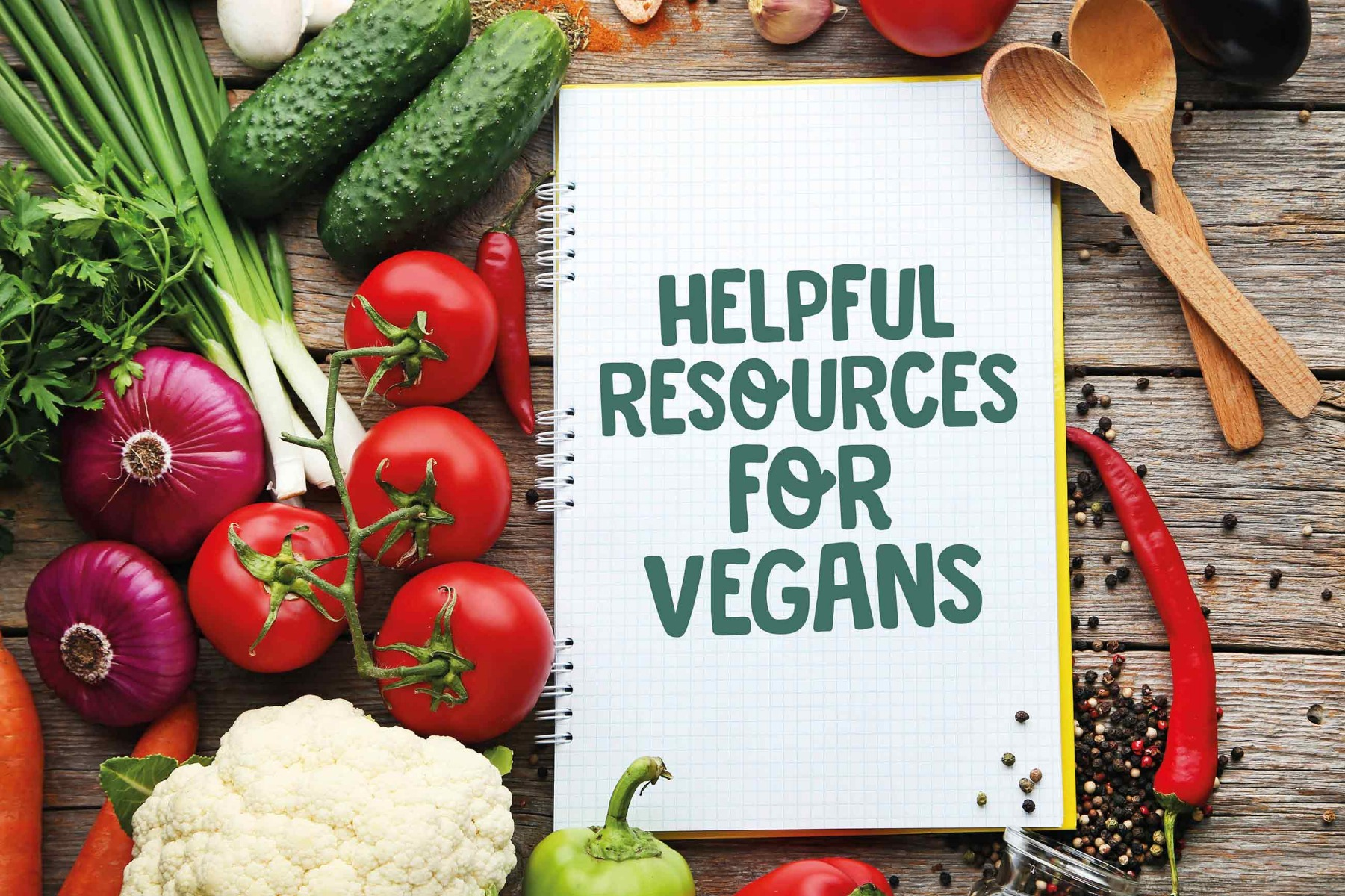 Helpful resources for vegans