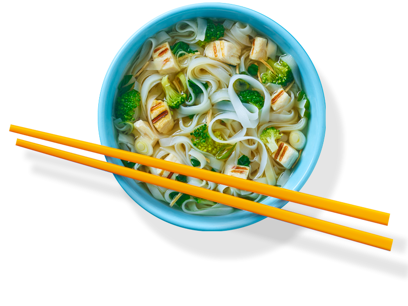 Tai Chi Chicken Rice Noodle Soup (8 pack)