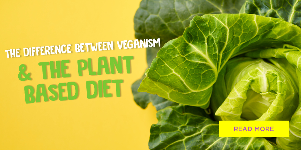 The Difference Between Veganism and The Plant Based Diet