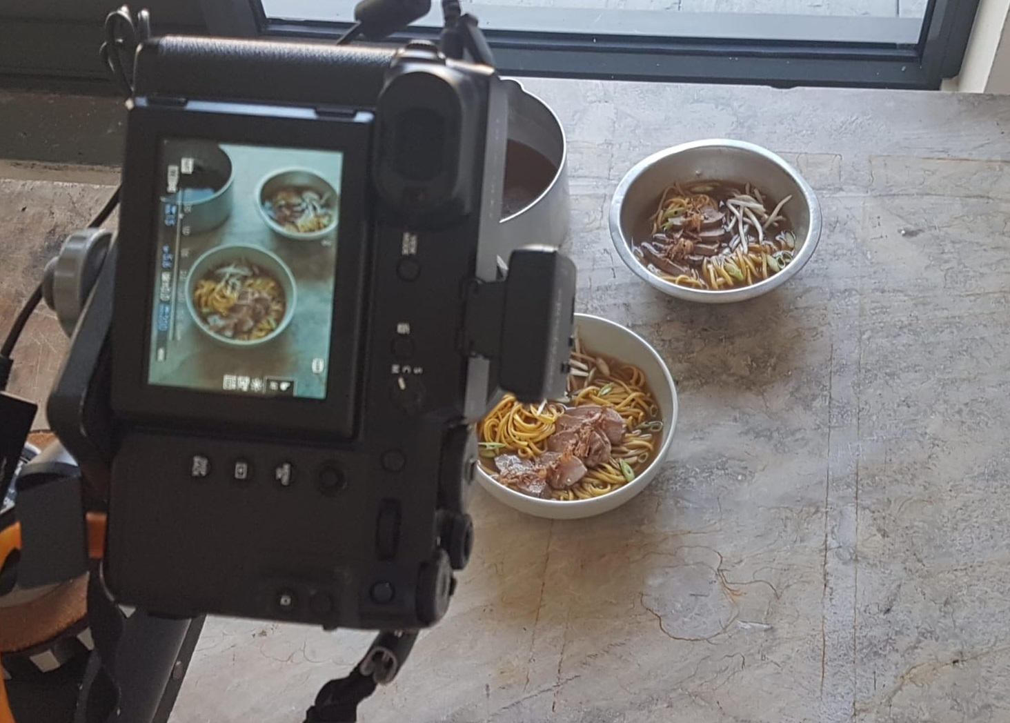The Noodle Cookbook photoshoot
