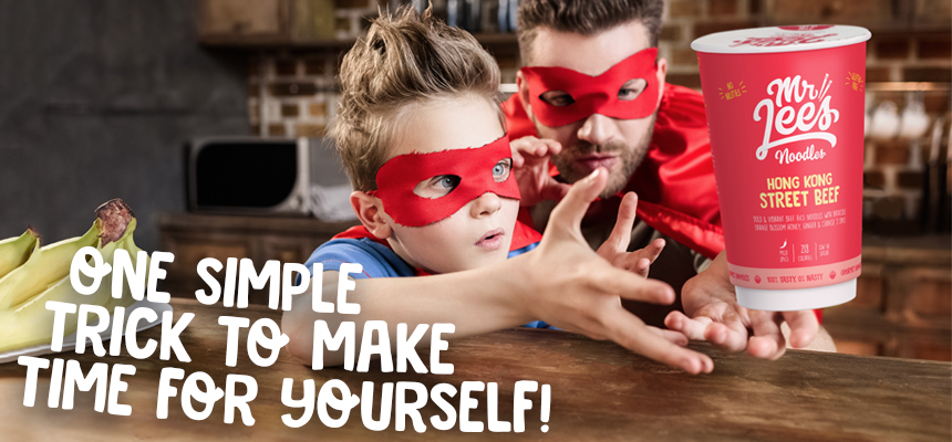 Parents, learn this one simple trick to make time for yourself