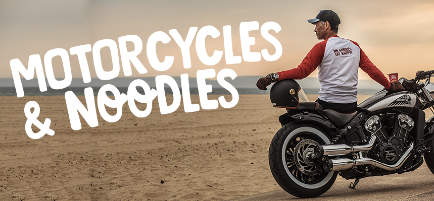 Motorcycles & Noodles | Raising awareness for Prostate Cancer and Men's Mental Health