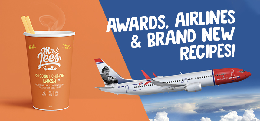 Awards, Airlines and New Recipes – Noodles Taken To New 'Heights'