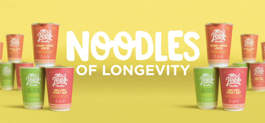 Noodles of Longevity - Happy Chinese New Year!