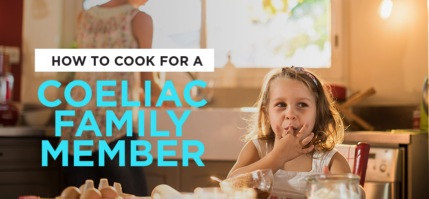 How to Cook for a Coeliac Family Member